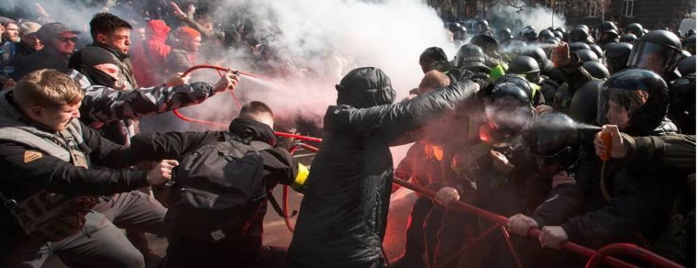 В Киеве ожидают ужесточения протестов «Нацкорпуса»