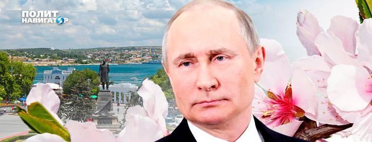 Путин: Возвращение Крыма важнее временных негативных последствий