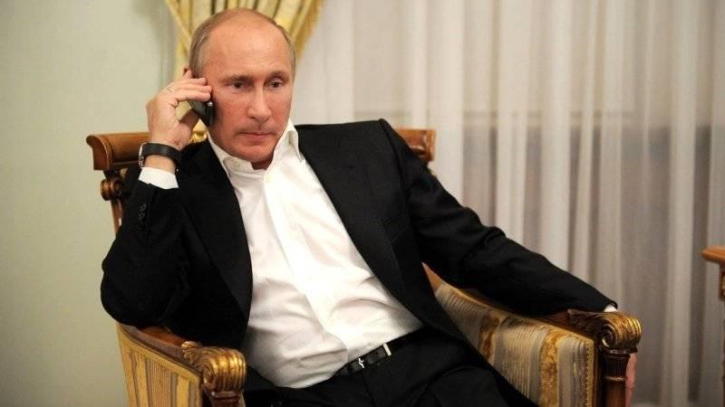 Путин созванивался с Назарбаевым перед его отставкой