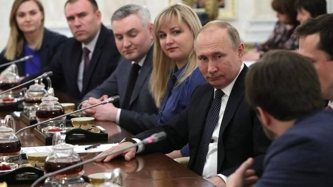 Встреча спобедителями конкурса «Лидеры России»