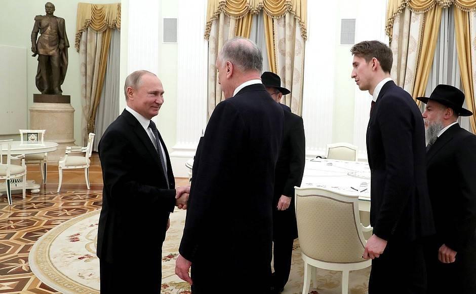 Встреча сРональдом Лаудером