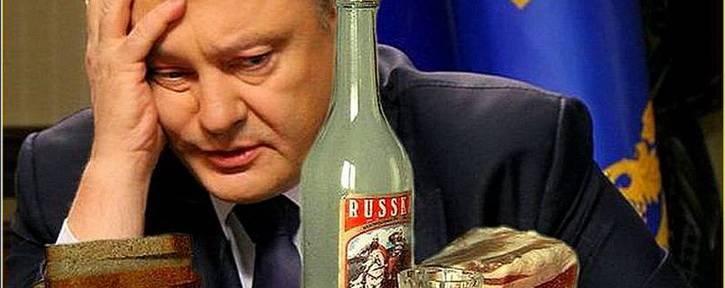 У Путина дали понять, что устали от нетрезвого Порошенко
