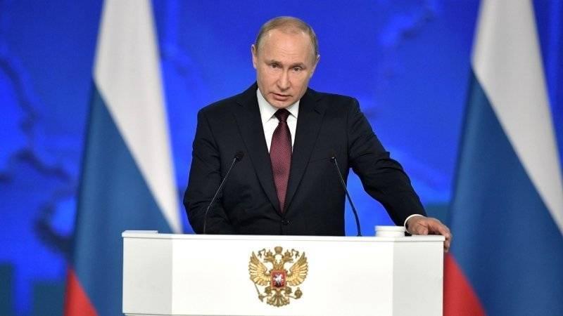 Путин поздравил Токаева с вступлением в должность президента Казахстана