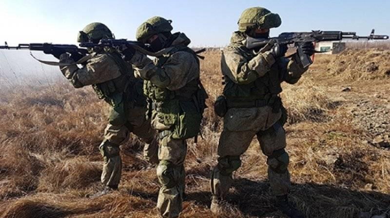 Мотострелки ВВО остановили наступление сил условного противника под Хабаровском