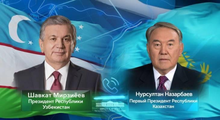 Шавкат Мирзиёев оценил Нурсултана Назарбаева   Вести.UZ