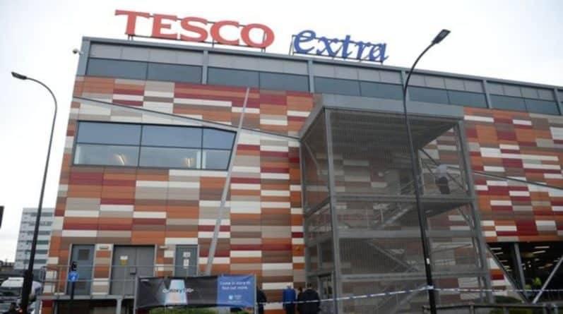 Двое покупателей Tesco получили серьезные ранения в супермаркете