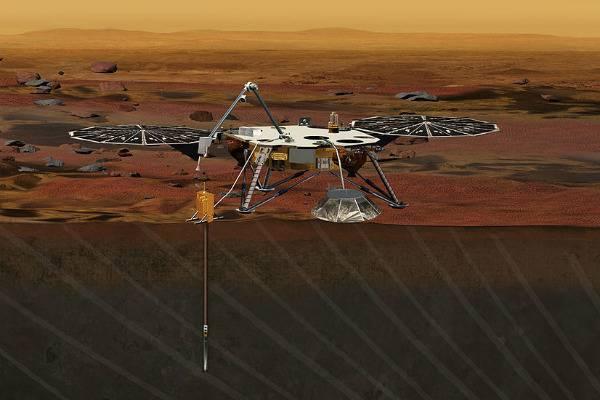 Проблемы с буром: НАСА выясняет, что произошло платформой InSight на Марсе