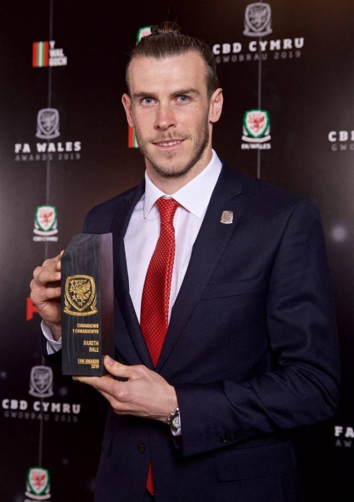 Бэйл получил приз как лучший игрок Уэльса в 2018 году