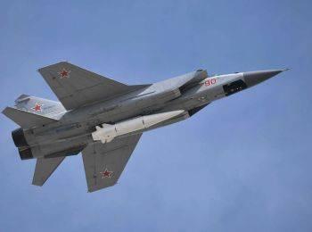 Россия перебросила 20 «Кинжалов» на военный полигон