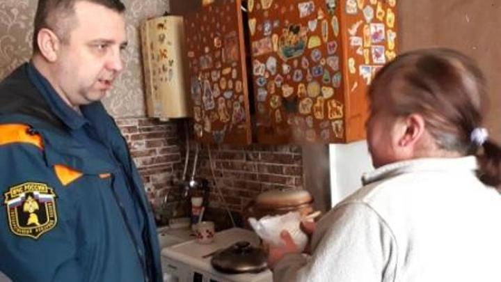 270 пожарных пожарных извещателей установили сотрудники МЧС в Калининградской области