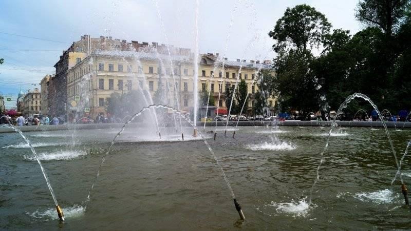 Петербуржцы проголосовали за ремонт фонтана в Любашинском саду