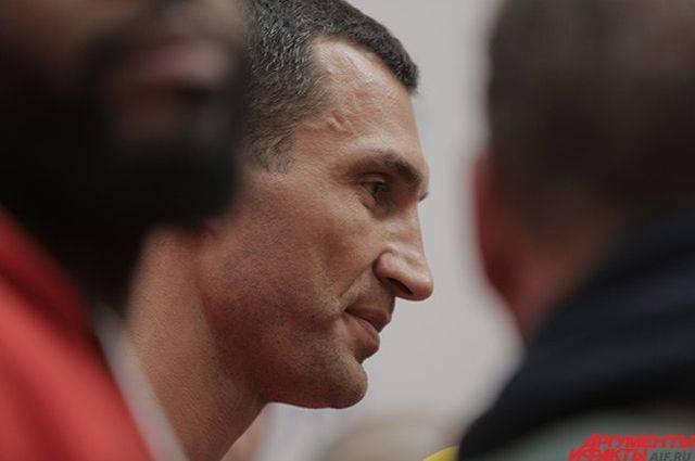 Виталий Кличко назвал условие, при котором его брат может вернуться на ринг