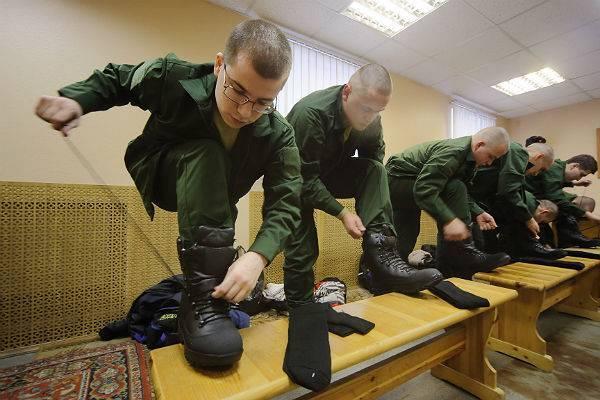 Путин предрек упразднение призыва в армию