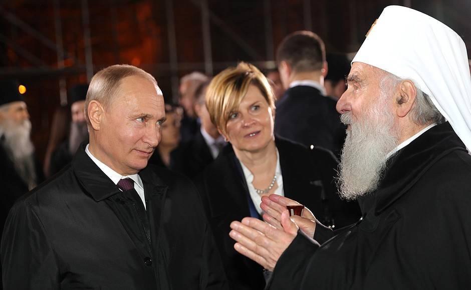 Западу не хватает сербских коллаборантов для обкатки технологии уничтожения канонической Церкви