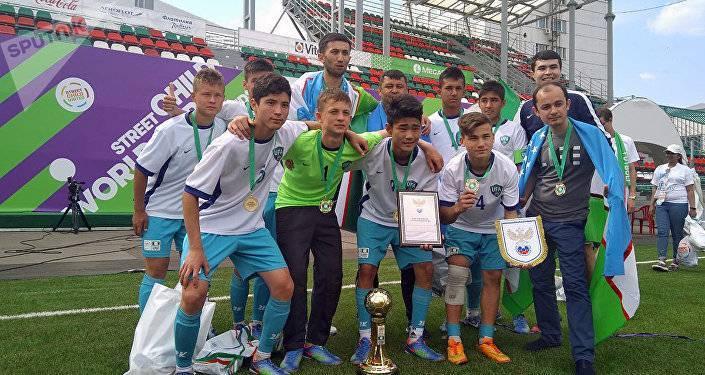 Узбекские футболисты-детдомовцы выиграли турнир в Таджикистане | Вести.UZ: фото и иллюстрации