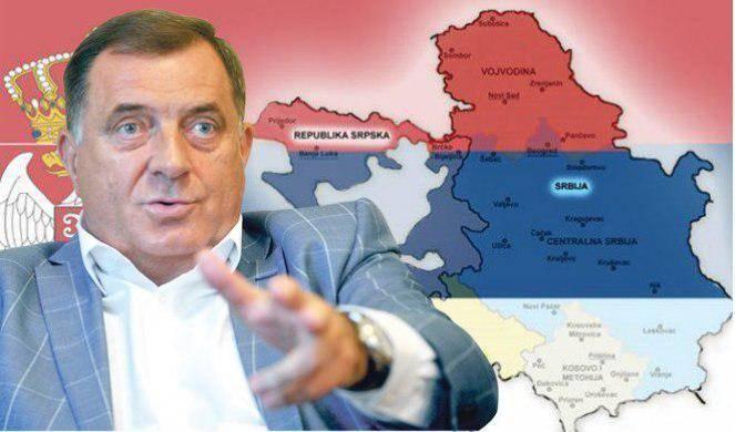 Додик пригрозил воссоединением с Сербией, если Косово примут в ООН: фото и иллюстрации