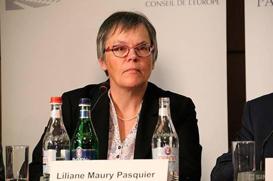 Глава ПАСЕ назвала встречу с Матвиенко хорошей