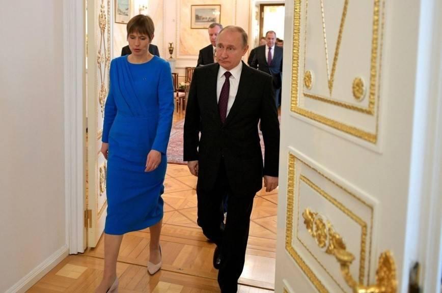 Президент Эстонии высоко оценила встречу с Путиным