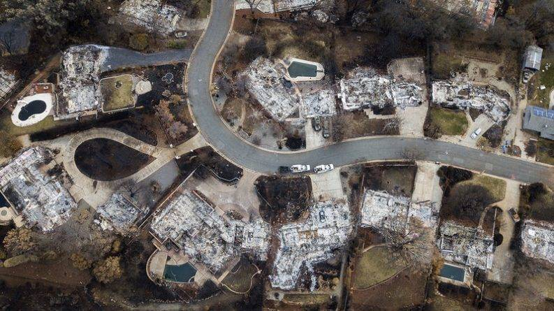 Водопроводная вода в калифорнийских городах, пострадавших от лесных пожаров, оказалась загрязнена бензолом