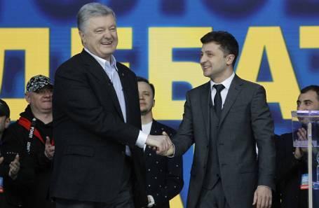 Политический баттл года: как прошли дебаты Порошенко и Зеленского