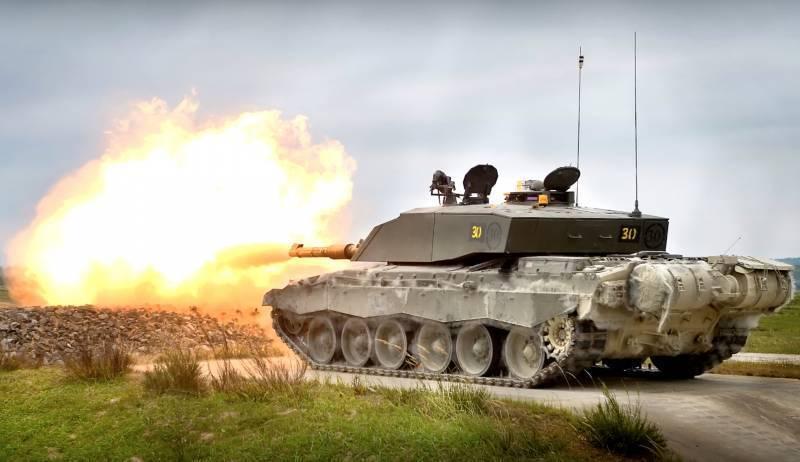 Танков в Великобритании станет меньше, чем в Сербии