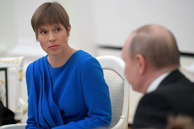 Как прошла встреча глав России и Эстонии?