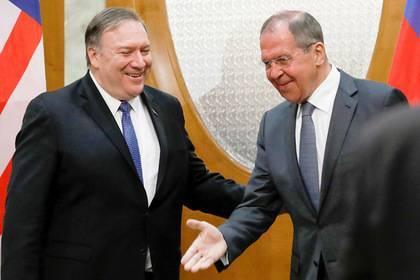 Помпео рассказал ожелании Трампа улучшить отношения сРоссией