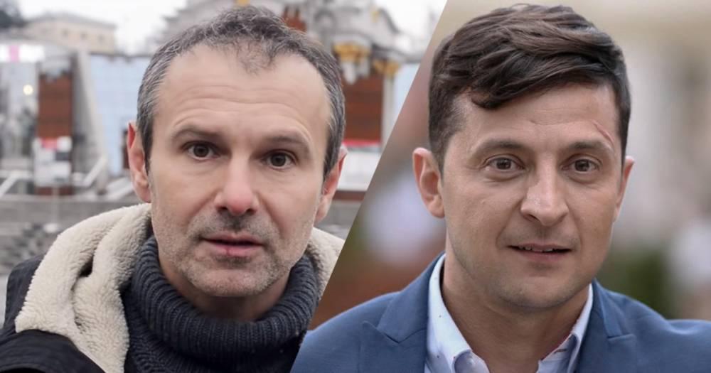 У Зеленского заговорили о коалиции с Вакарчуком