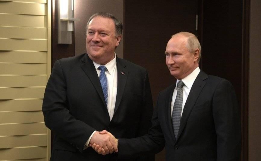 Помпео оценил пользу от сотрудничества РФ и США
