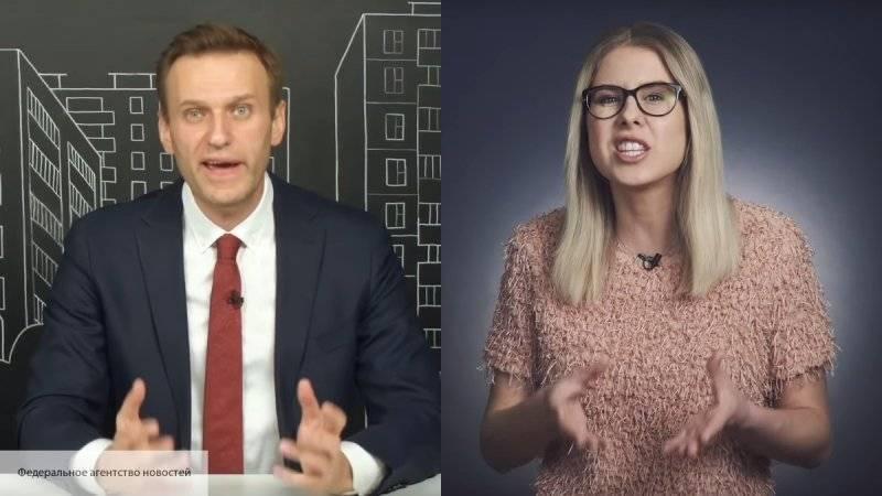 Ставка Навального на Соболь и Гусеву обернулась для блогера фиаско в Москве и Петербурге