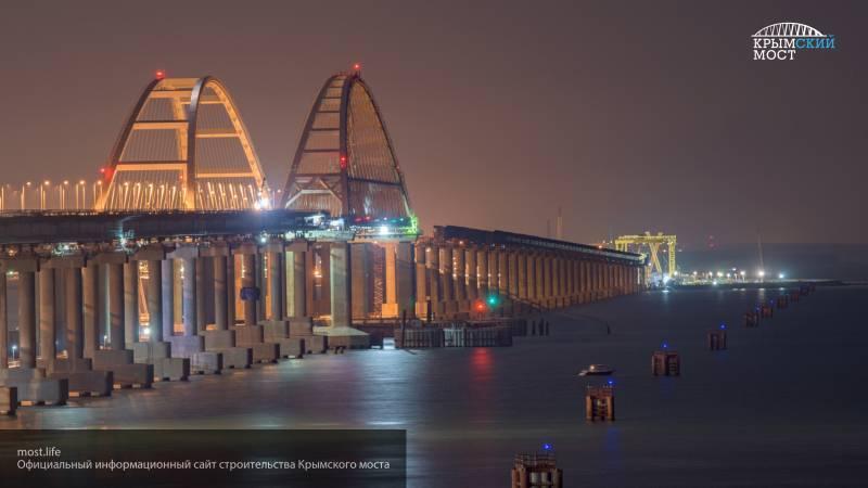 Крымский мост нанес существенный урон экономике Украины, считают британские журналисты