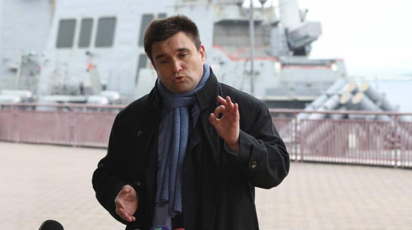 Климкин подал в отставку