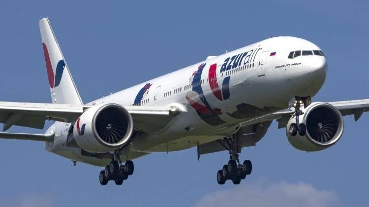 Авиакомпания Azur Air отменит с 1 июня питание на рейсах короче пяти часов