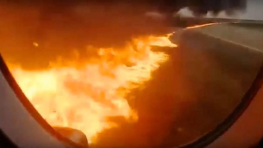 О превышении массы сгоревшего в Шереметьево SSJ 100 рассказали в Росавиации