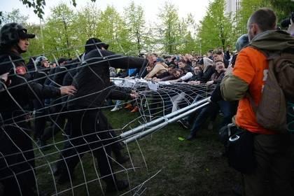 Россияне встали назащиту скверов вслед заЕкатеринбургом: фото и иллюстрации