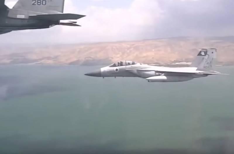 ПВО Сирии отразили ракетную атаку ВВС Израиля под Дамаском
