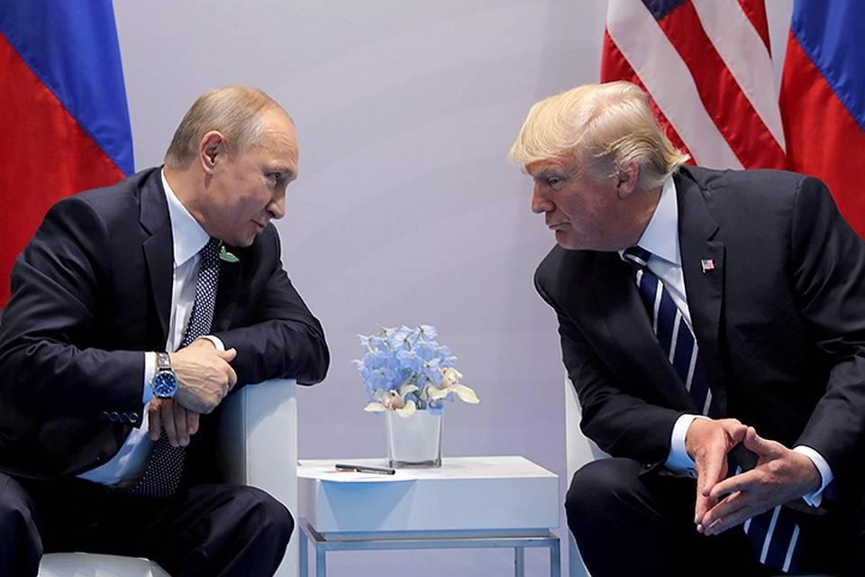Песков: встречу Путина и Трампа должны инициировать США