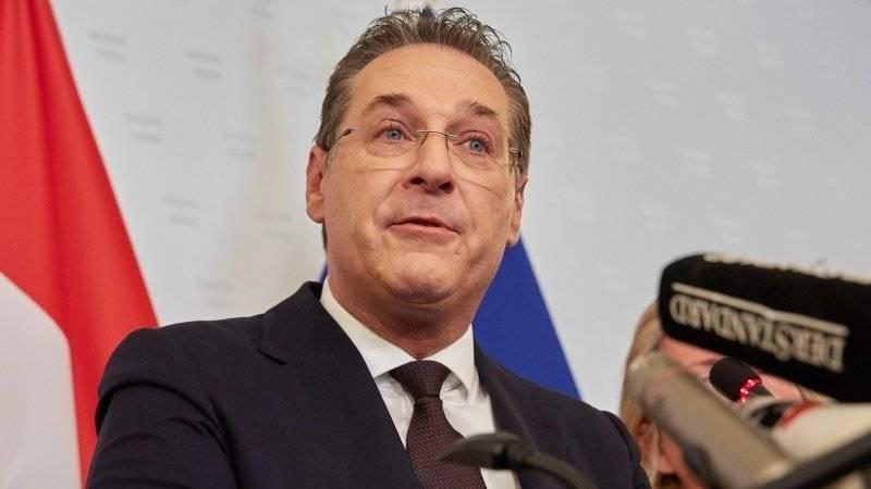 Австрийская прокуратура не расследует инцидент с вице-канцлером Штрахе