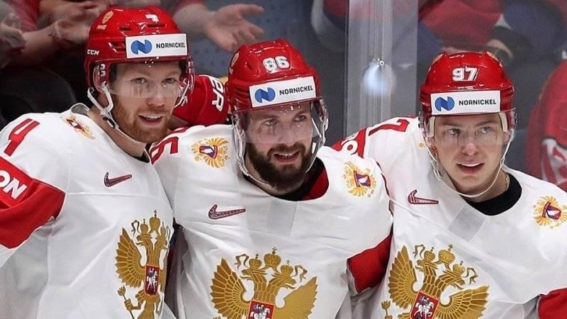 Российская сборная обыграла швейцарцев в матче ЧМ по хоккею