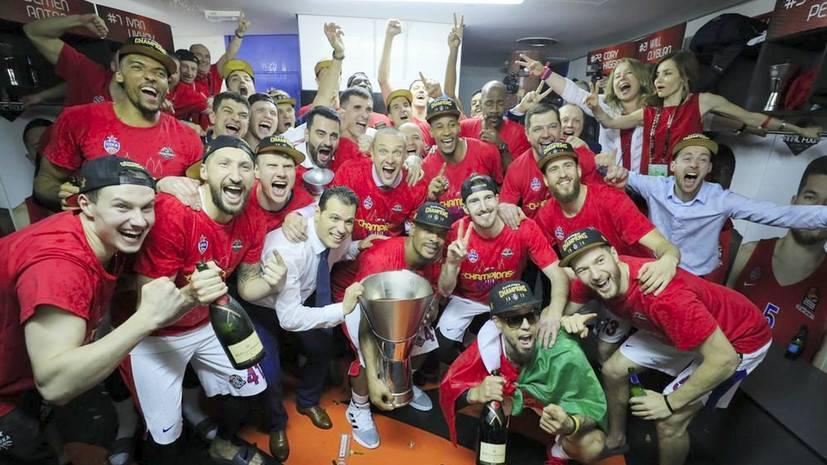Голодец отметила волевые качества ЦСКА в «Финале четырёх» Евролиги