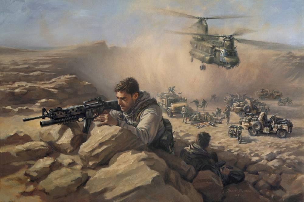 Британский спецназ отправился в Персидский залив на помощь США