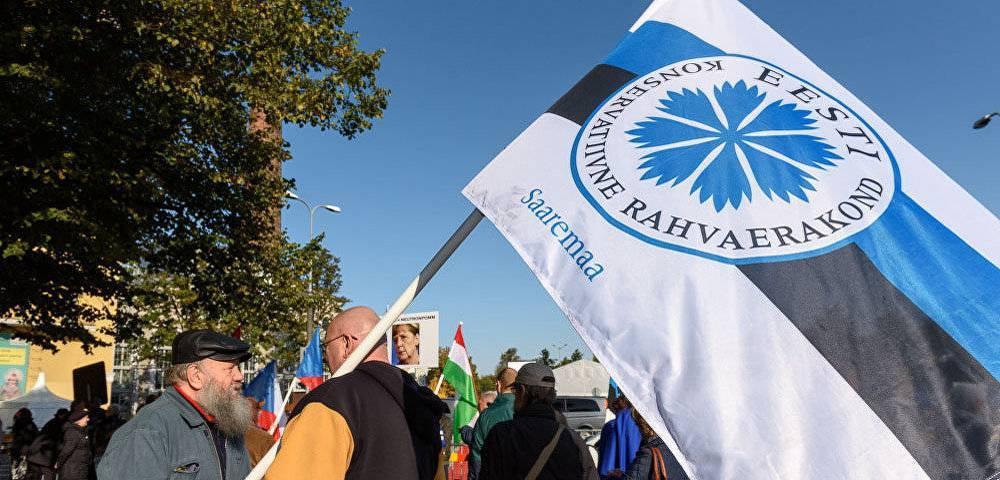 Эстонские праворадикалы призывают бороться за суверенитет Эстонии в рамках ЕС