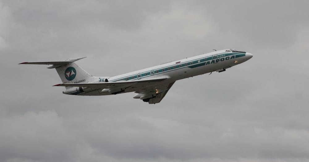 <p>Ту-134 завершил карьеру вавиации</p>