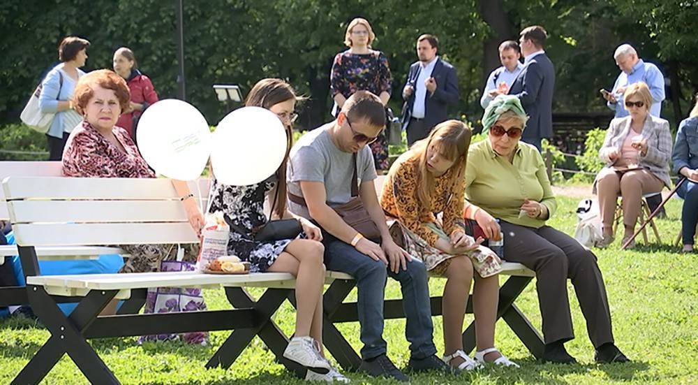 Первый в России тактильный сад открылся в Москве (видео)