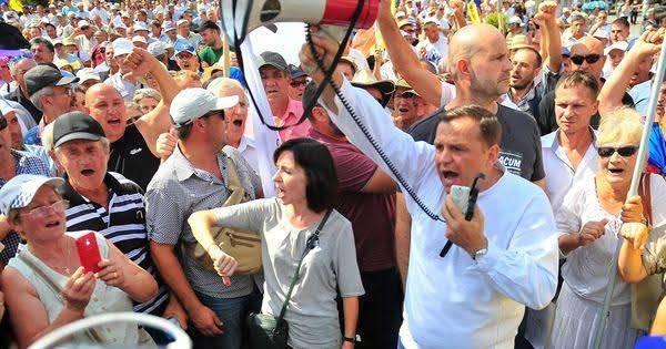 Молдавию ждут новые протесты, обещает блок ACUM