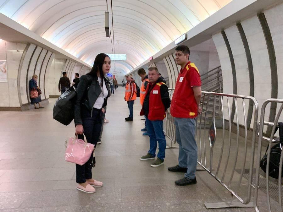 Движение поездов метро восстановят в течение полутора часов