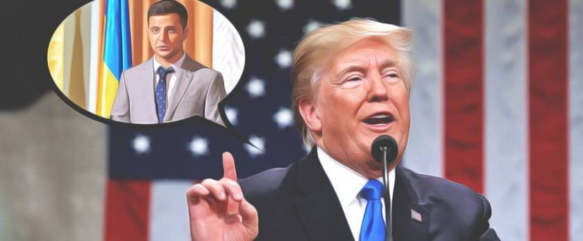 Зеленский разочаровал Трампа   Политнавигатор: фото и иллюстрации