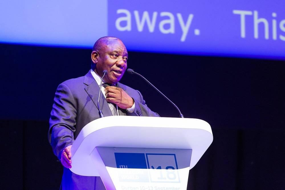 Сирил Рамафоза был избран президентом ЮАР
