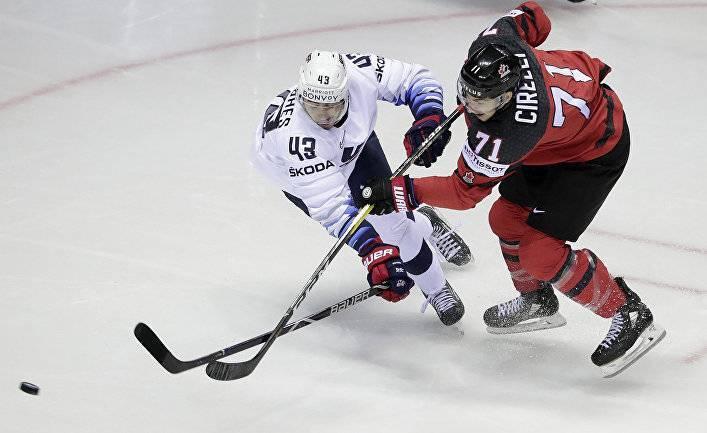 Четвертьфиналы чемпионата мира по хоккею: Россия — США, Финляндия — Швеция (FloSports, США)