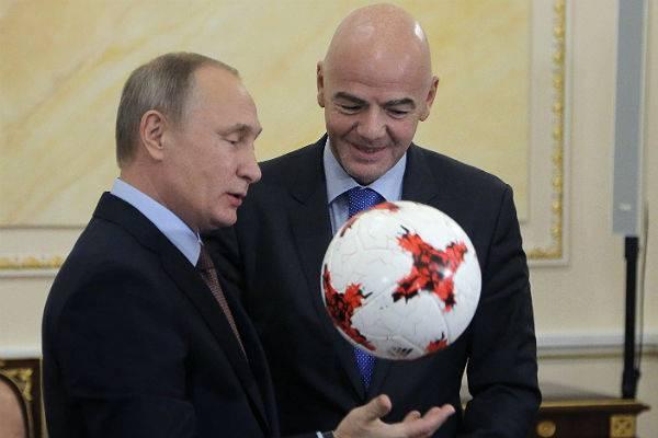 Президент ФИФА Инфантино Путин: Президент ФИФА перешел на русский ради Путина - 23.05.2019 | RusDialog.ru